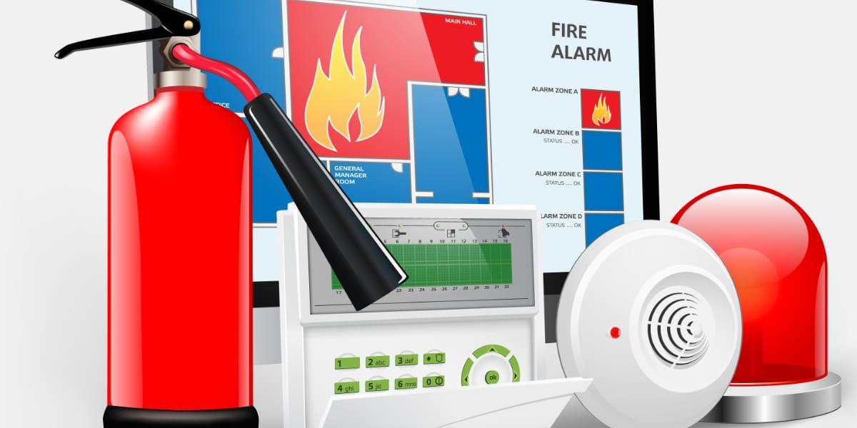 rookdetector brandcentrale brandalarm