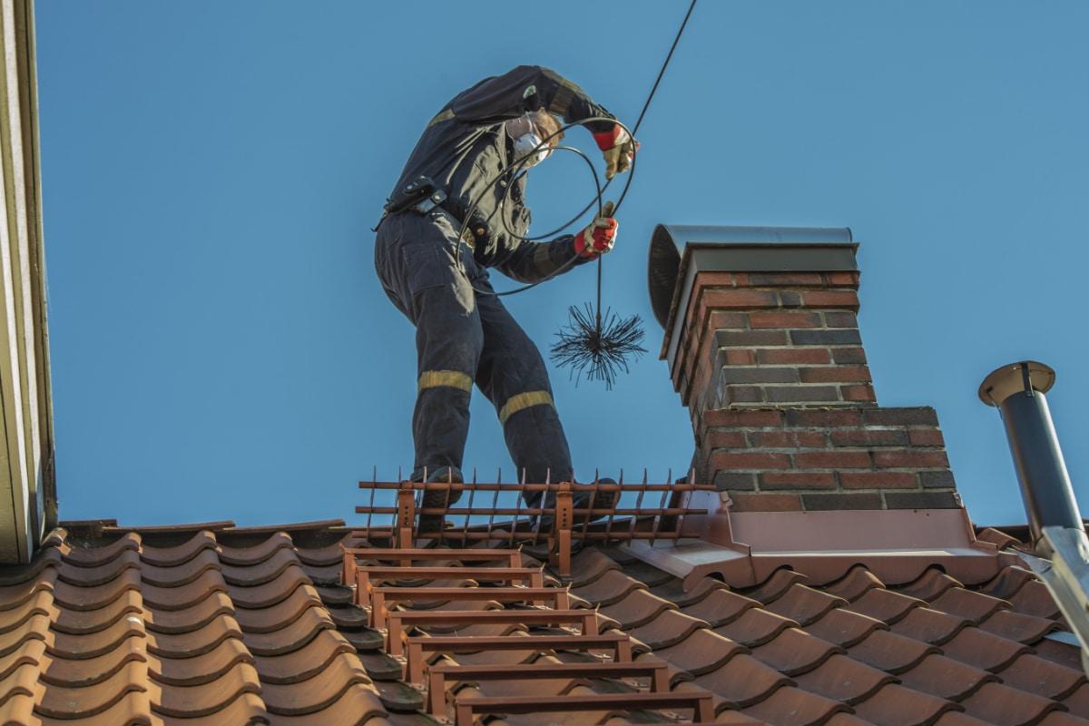schouwbrand voorkomen - schoorsteen vegen